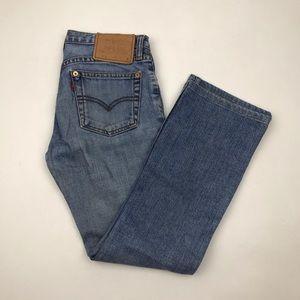 Vintage Levi's 595 Button Fly Boot Cut Jeans